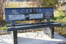 bench bench monuments personalized memorial benches for lincoln