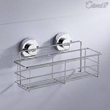 Bathroom Suction Shelves Suction Bathroom Caddies Storage Solutions Ebay
