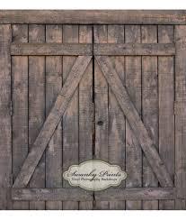 barn doors vinyl photography backdrop
