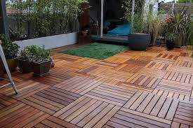 home24h co ltd bare decor solid teak wood interlocking flooring