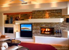 Best Media Wall Images On Pinterest Wall Design Fireplace - Design fireplace wall