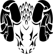 aries tribal by phoenixkagami on deviantart