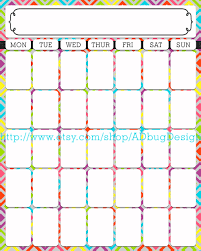 30 day calendar template great printable calendars