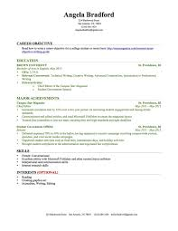 Sample Of Career Objectives In Resume by How To Write A Resume With No Experience Popsugar Career And Finance