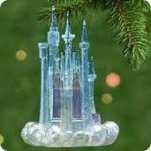 2001 hallmark cinderella s castle ornament special