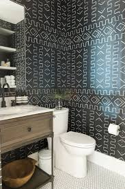 bathroom wallpaper designs promontory project downstairs office u2014 studio mcgee
