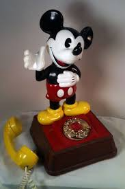 Mickey Mouse Table by Collectibles Mickey Mouse Rotary Dial Table Phone
