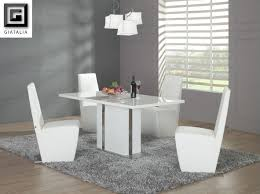 beautiful modern white dining room chairs modern white dining