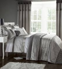 Fur Comforter Bedroom Terrific Black And Gray Bedding Sets For Full Size Bed