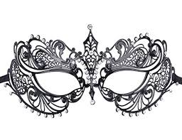 masquerade masks for women venetian masks coxeer metal masquerade mask women s laser cut