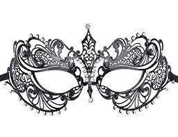 masquerade masks venetian masks coxeer metal masquerade mask women s laser cut