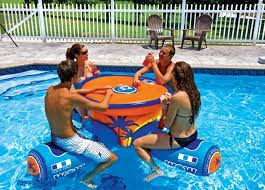 floating picnic table for sale wow aqua table a 4 person floating picnic table with built in cooler