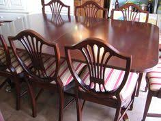 Duncan Phyfe Dining Room Table And Chairs Vintage Duncan Phyfe Dining Table Mahogany American C1930 S