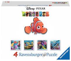 ravensburger disney finding nemo friends puzzles suitcase
