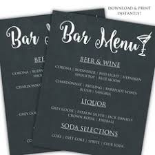 bar menu template design u0026 templates graphic design store