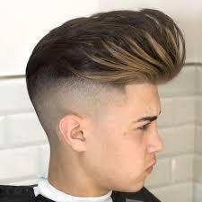 long tapered hairstyles taper haircut with long hair popular short