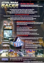 pete u0027s gameroom 2000 sega star wars racer arcade