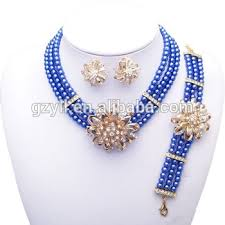 sapphire beads necklace images Rani haar pearls sapphire beads jewelry set beads jewelry jpg