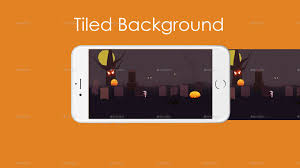 free halloween tiled background paperland halloween game background by irissnebula graphicriver