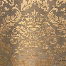 Upholstery Fabric For Curtains Golden Damask Fabric Upholstery Fabric Curtain Panels Drapery