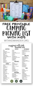 Iowa travel packing list images Best 25 camping packing tips ideas camping packing jpg