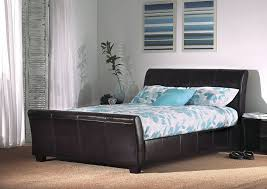 King Size Leather Bed Frame King Bed In Different Styles And Designs Sadecor