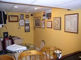 basement finishing renovation false wall framing drywall trim