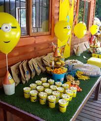 minions birthday party minions birthday party theme