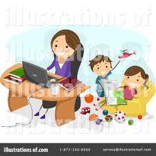home office clipart 1091315 illustration by bnp design studio