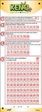 Mega Millions Payout Table How To Play Keno