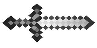 minecraft steve with diamond sword coloring page in coloring pages