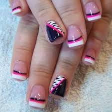 50 lovely pink and white nail art designs crown nails crown and