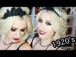 how to do great gatsby hairstyles for women wearable great gatsby inspired hair makeup and outfit youtube