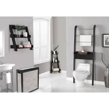 Bathroom Ideas Gray Gray Wall Paint Towelshelf Washbasin With Pedestal White Cermaic