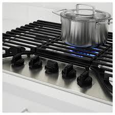 framtid 5 burner gas cooktop ikea