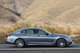 2017 bmw 5 series sedan first look review motor trend