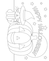 Halloween Pumpkin Coloring Page 8 Images Of Owl And Pumpkin Coloring Page Dover Publications