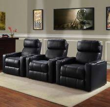 Theater Sofa Recliner Home Theater Seating Ebay