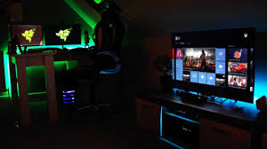 home decoration stunning decor with ultimate tech desk gaming
