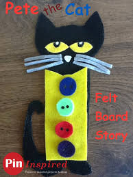 pete the cat felt board story pin inspired