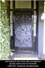 Wrought Iron Patio Doors by Full Size Of Security Sliding Screen Doors Amazing Sliding Patio