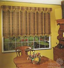 Retro Window Curtains Colorful Trim For Your Cafe Curtains Valance Or Window Shade