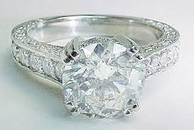 diamond rings sale images Antique style platinum engagement ring jpg