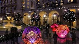beverly hills christmas lights get your glittery golden triangle fun on at bold holidays nbc