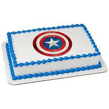 captain america cake topper marvel captain america shield edible cake topper