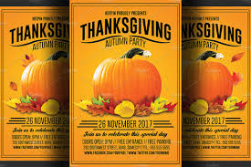 thanksgiving party themes thanksgiving flyer photos graphics fonts themes templates