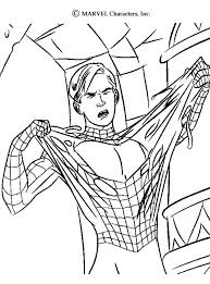 spider man coloring pages aming spiderman 16340