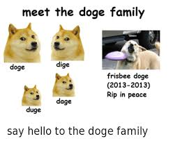 How To Pronounce Doge Meme - 25 best memes about doge family doge family memes