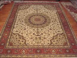 Silk Oriental Rugs How To Hang Silk Rug With Rod Silk Rug Persian Rug Oriental Rug