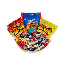 Candy Gift Basket Raja Ji Jolly Rancher Juicy Zour Bomb Candy Gift Basket 8001135